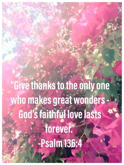 Psalm 136:4